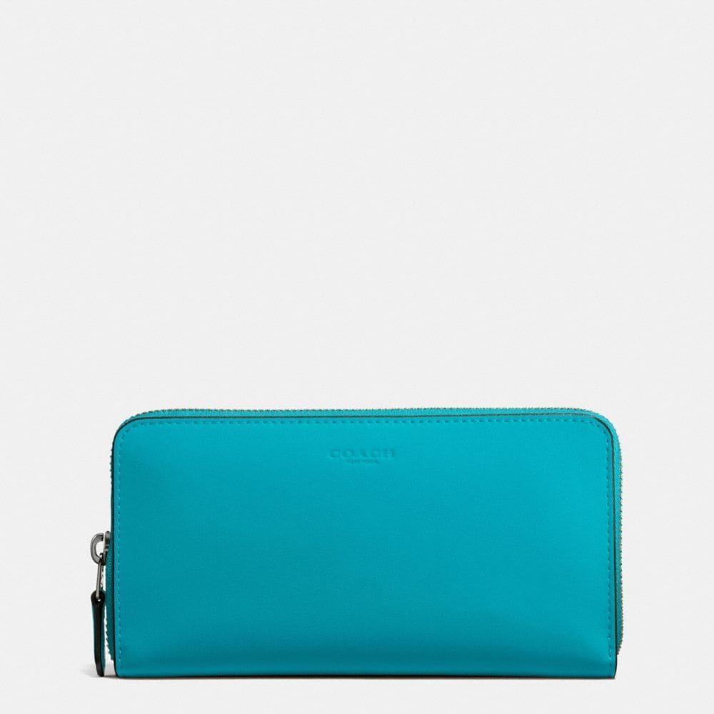 Accordion Zip Wallet in Glovetanned Leather