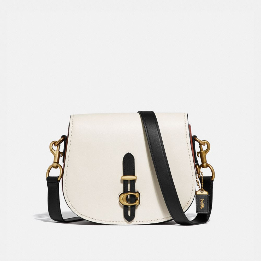 Coach Saddle in Colorblock
