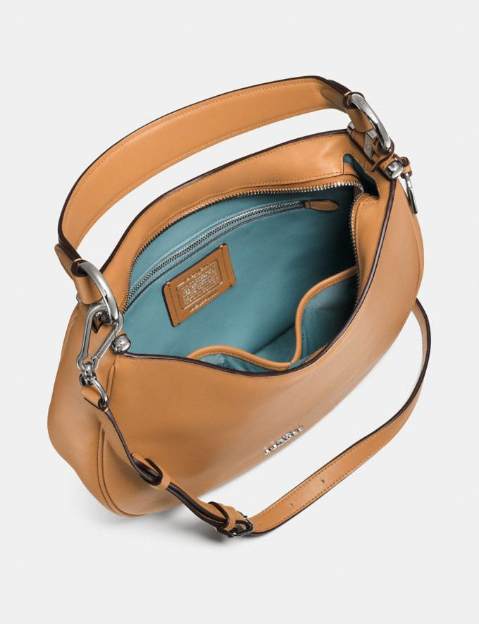 Coach Mae Crossbody Silver/Light Saddle  Alternate View 2