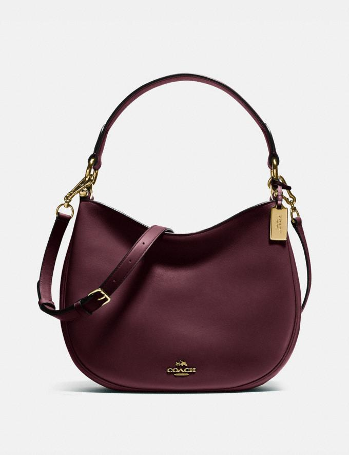 Coach Mae Crossbody Li/Oxblood Back In Stock Back In Stock Bags