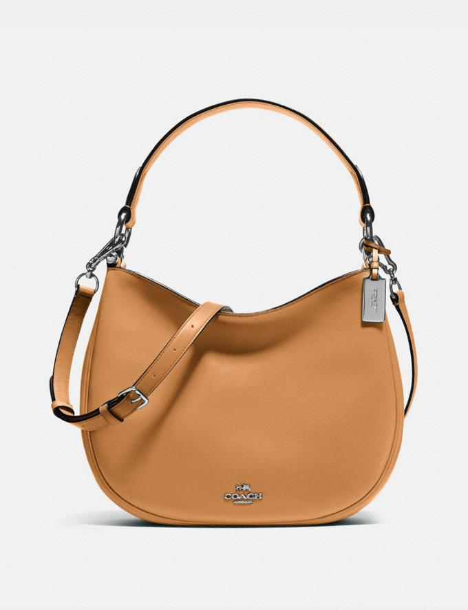 Coach Mae Crossbody Silver/Light Saddle Coach Reserve Coach Reserve