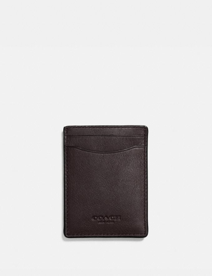 Coach 3-In-1 Card Case Chestnut New Men's New Arrivals Wallets