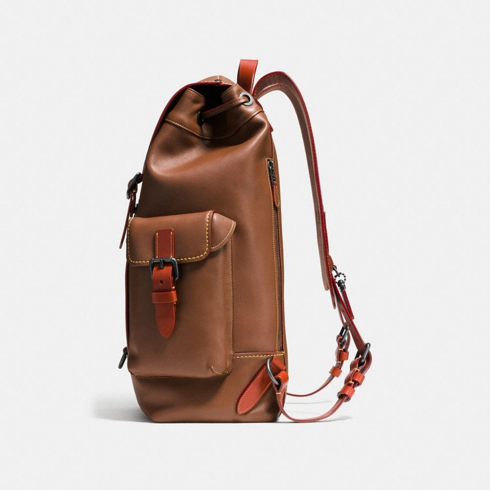 GOTHAM BACKPACK IN GLOVETANNED LEATHER - Autres affichages A1