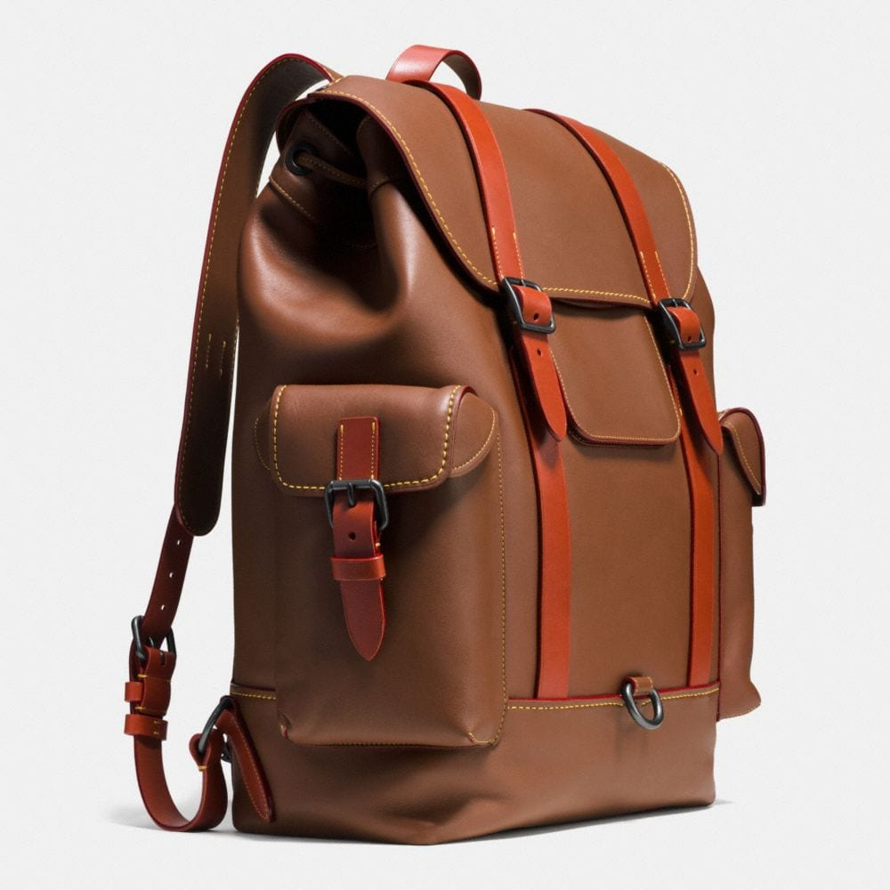 GOTHAM BACKPACK IN GLOVETANNED LEATHER - Autres affichages A2