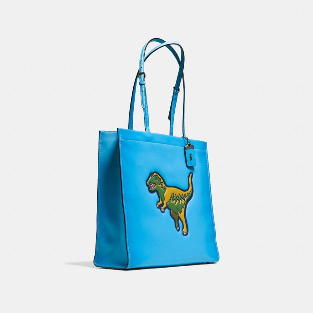T-Rex Skinny Tote in Glovetanned Leather - Alternate View A2