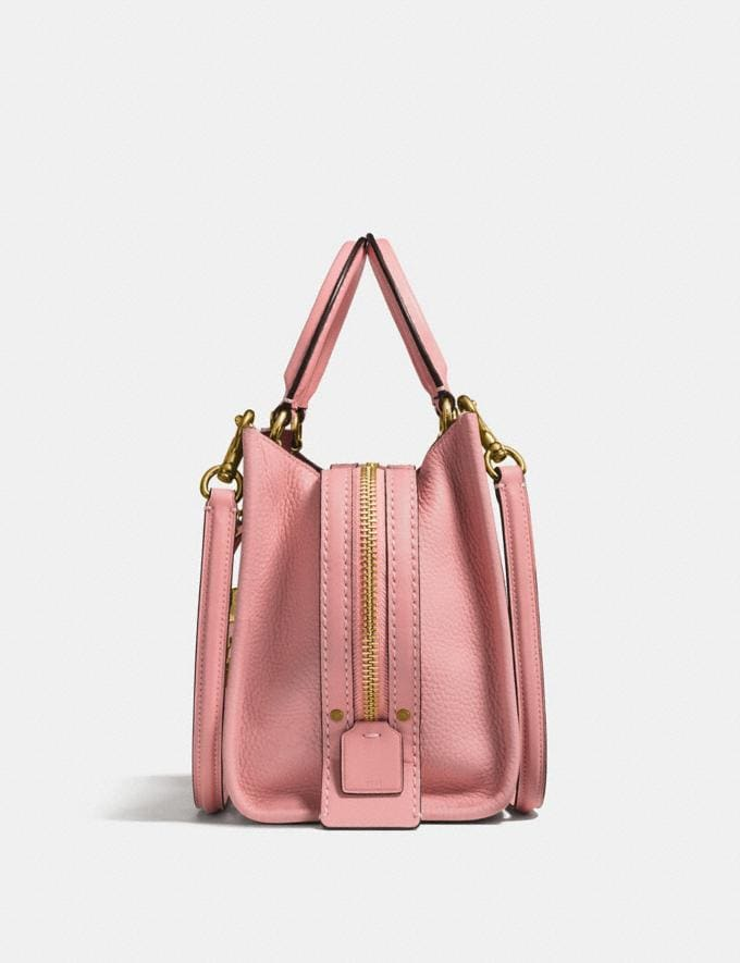 Coach Rogue 25 Fuchsia/Pewter Women Collection Rogue Alternate View 1