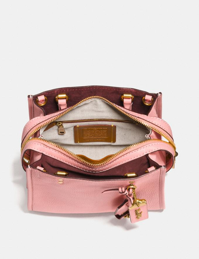 Coach Rogue 25 Fuchsia/Pewter Women Collection Rogue Alternate View 2