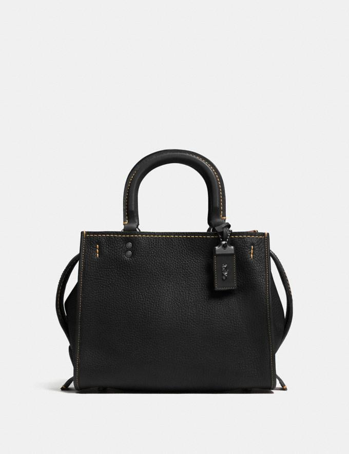 Coach Rogue 25 Black/Black Copper Gifts For Her Bestsellers