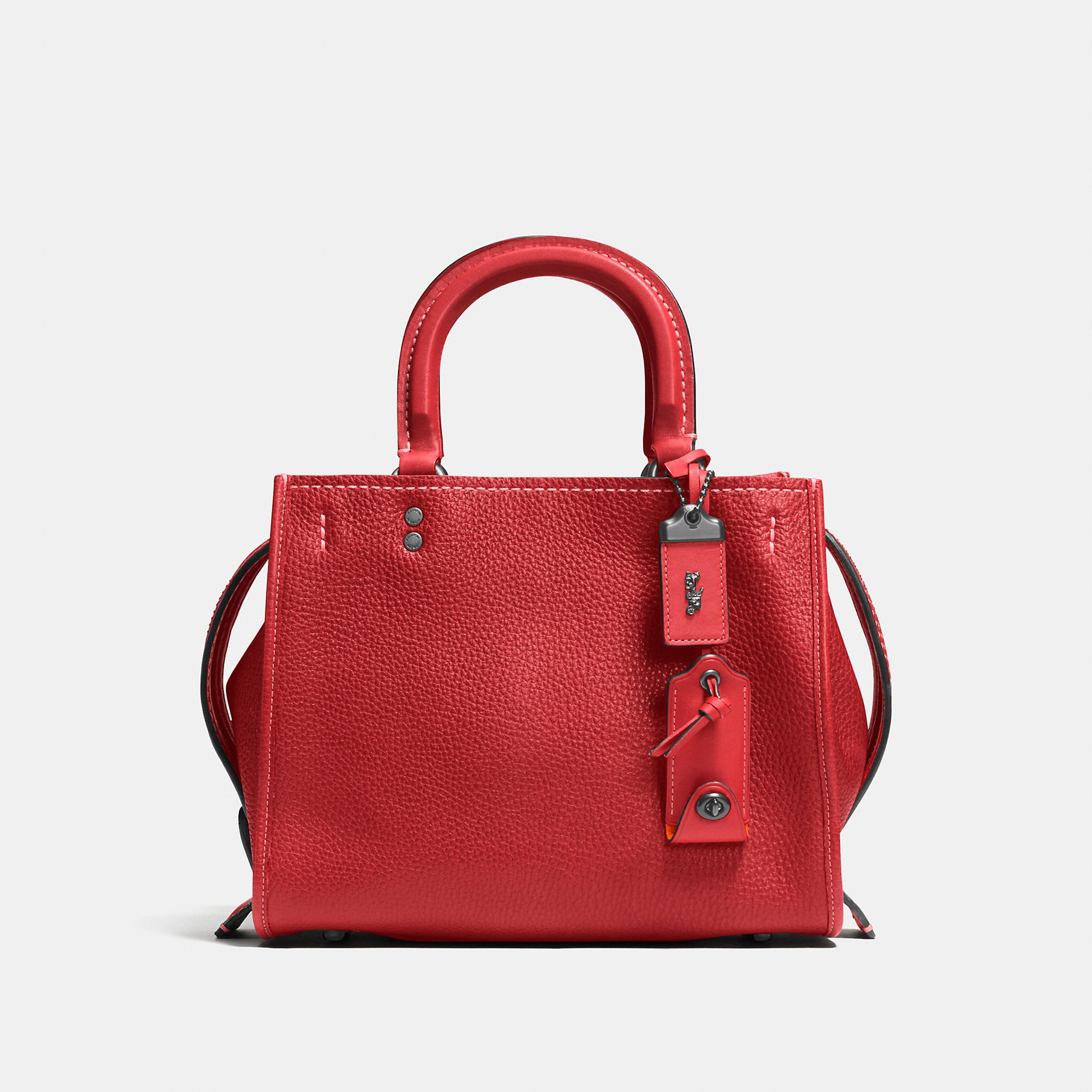 Coach Rogue Bag 25 In Glovetanned Pebble Leather