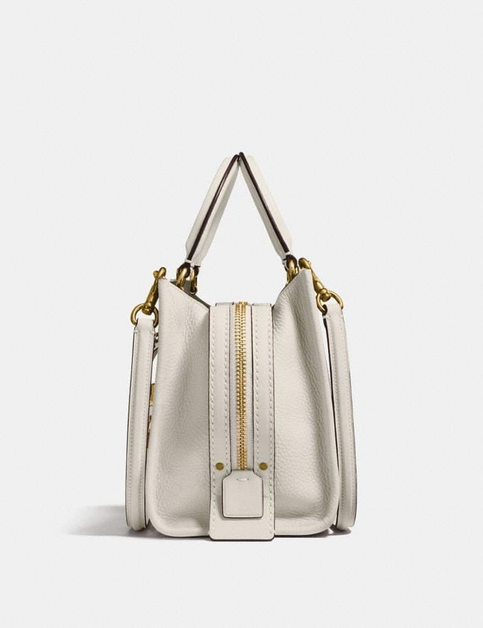 Coach Rogue 25 Chalk/Brass Coach Exclusive Event Alternate View 1