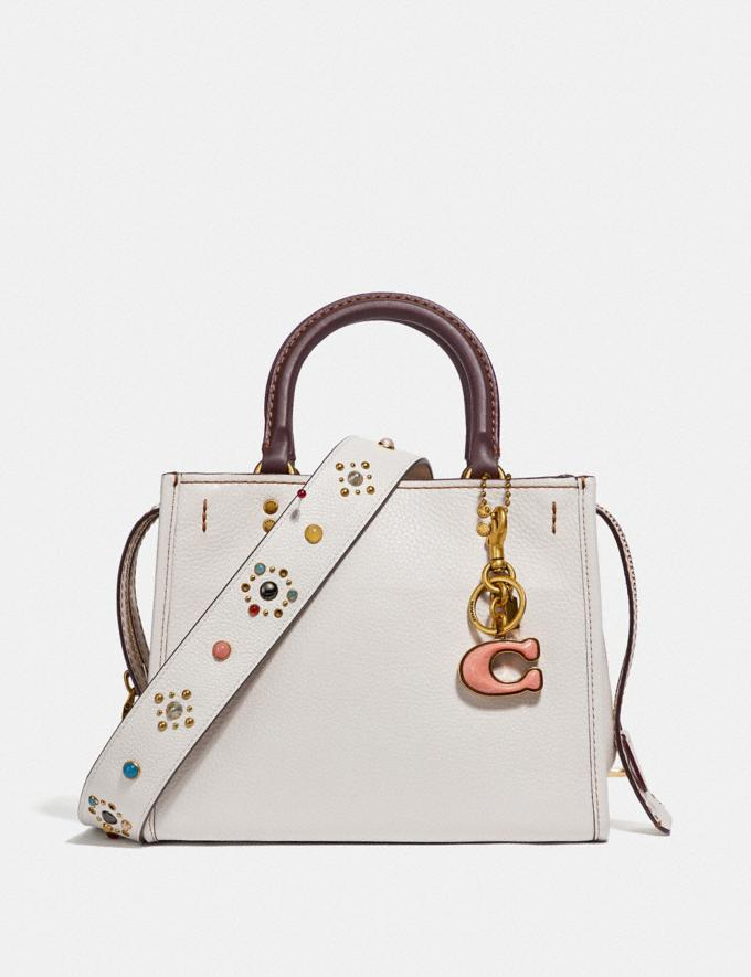 Coach Rogue 25 Chalk/Brass Coach Exclusive Event Alternate View 3
