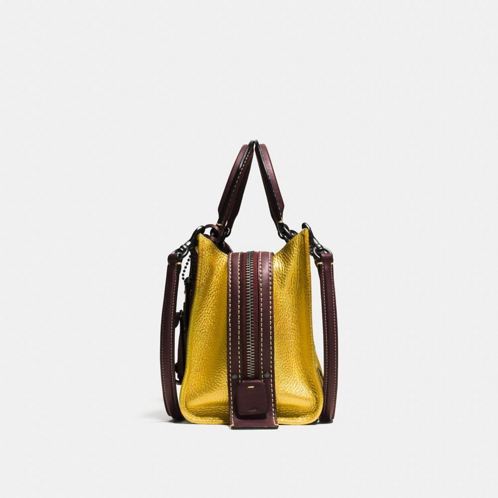 Rogue Bag 25 in Metallic Patchwork Leather - Alternate View A1