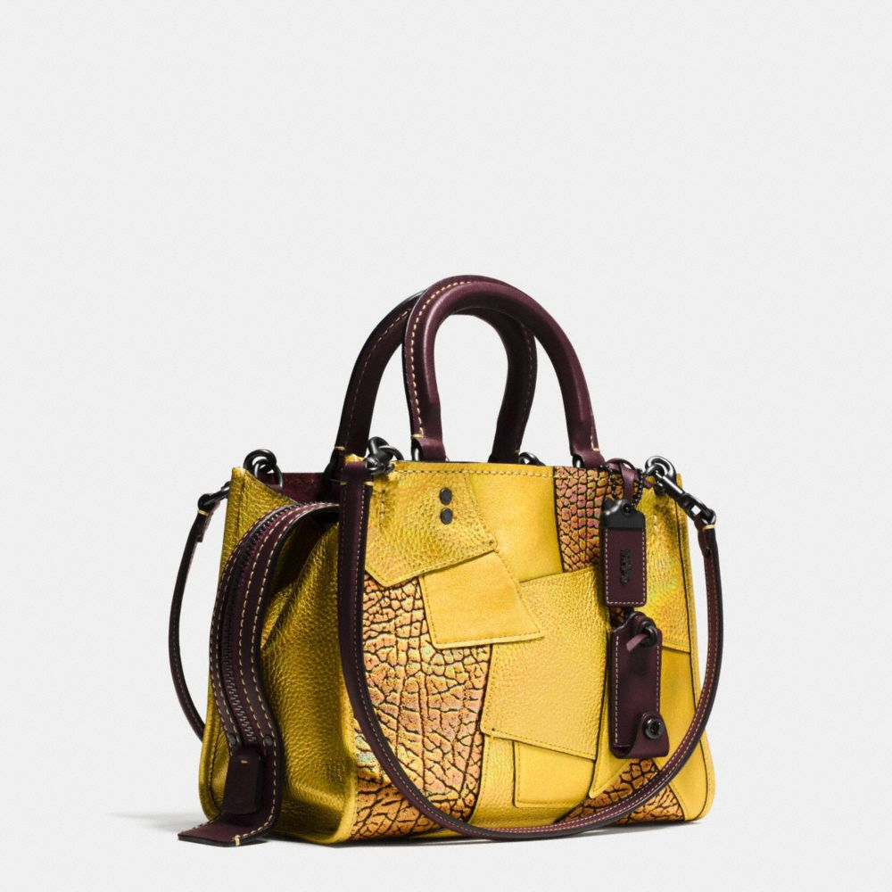 Rogue Bag 25 in Metallic Patchwork Leather - Alternate View A2