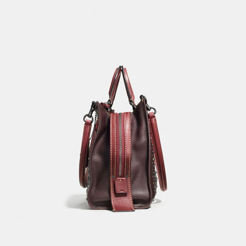 Coach Rivets Rogue Bag in Pebble Leather Alternate View 1