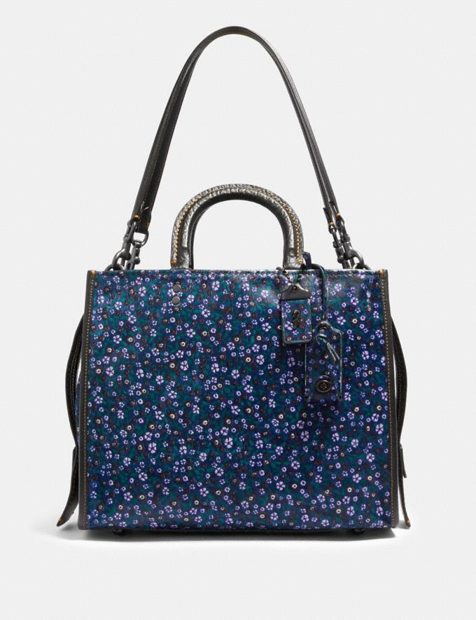 Coach Rogue Bp/Ranch Floral Brgt Purple SUMMER SALE Women's Sale New to Sale New to Sale