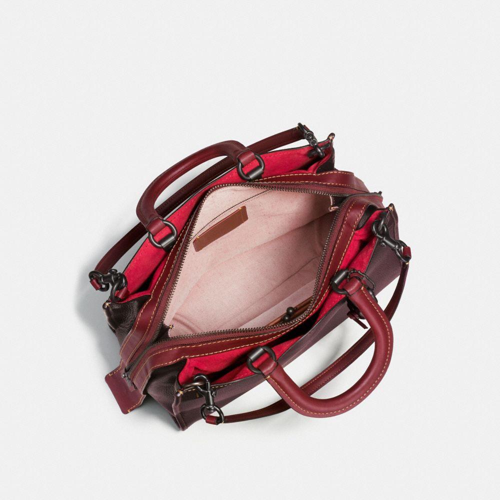 ROGUE BAG 36 IN GLOVETANNED PEBBLE LEATHER - Visualizzazione alternativa