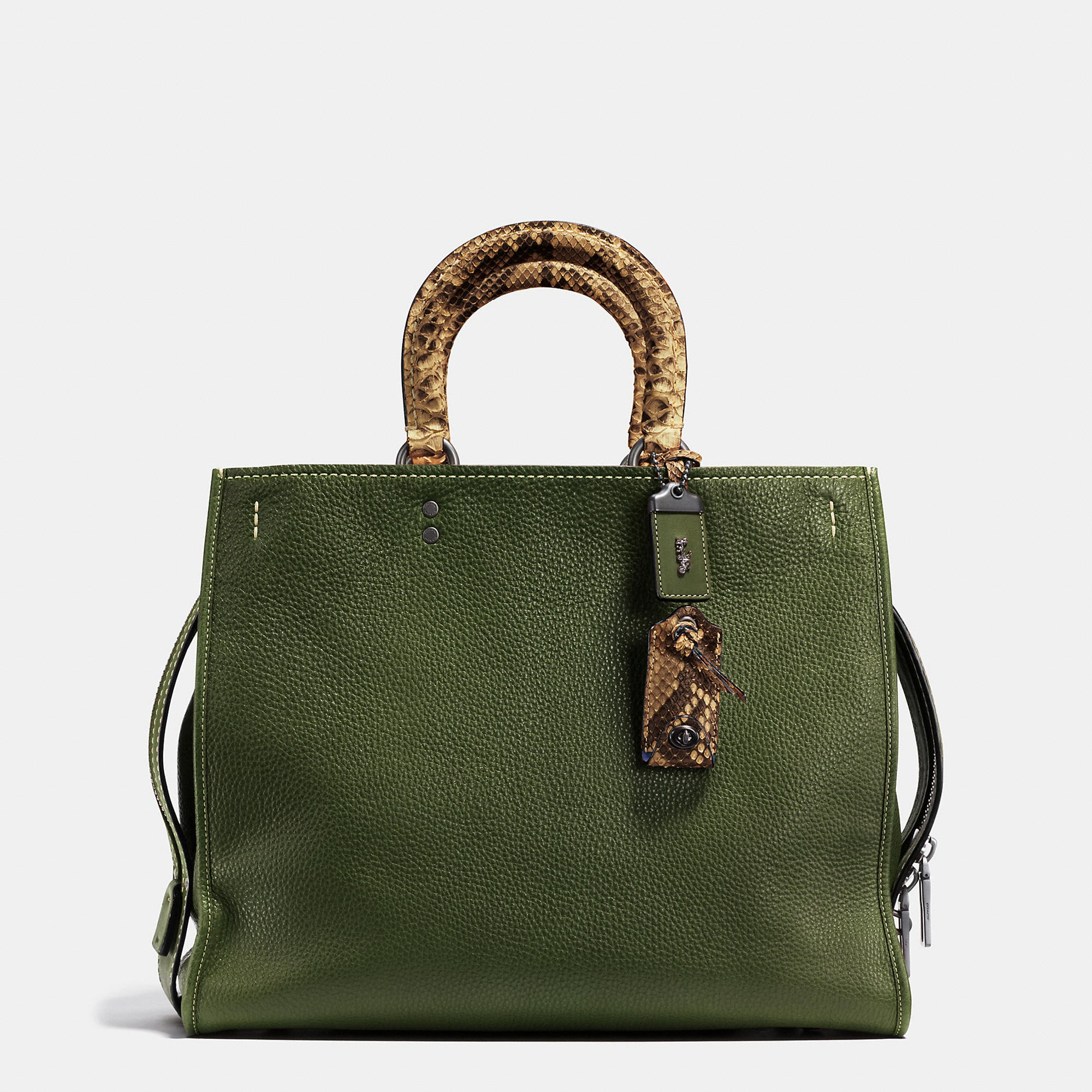 Coach Rogue Bag 36 In Colorblock Python