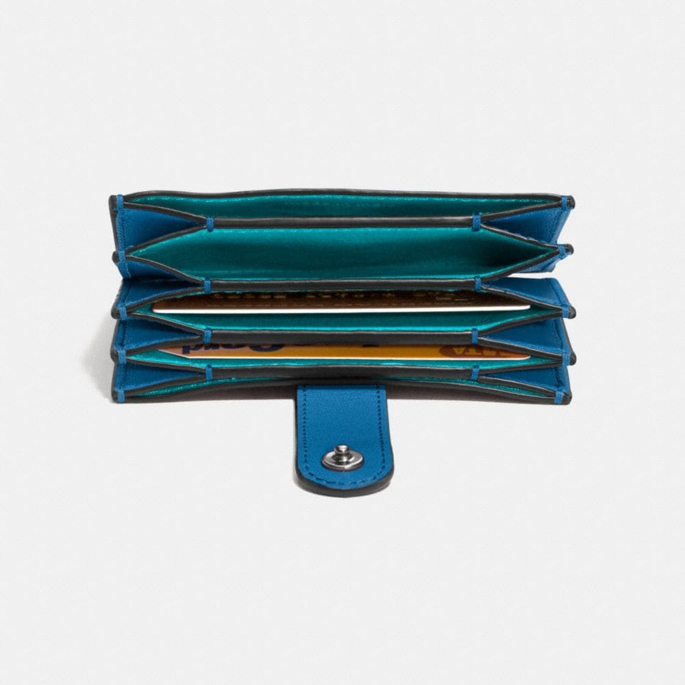 Accordion Card Case in Glovetanned Leather - Alternate View L1