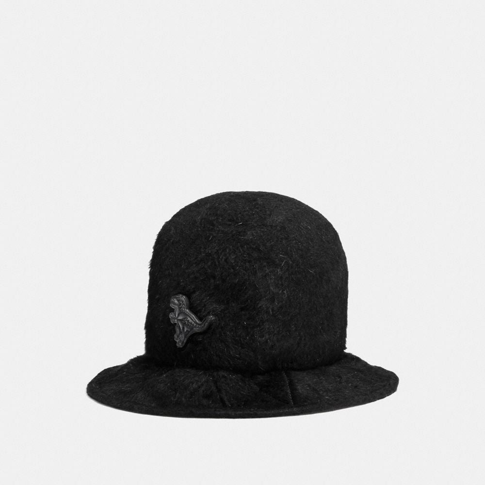 Coach Furry Felt Hat