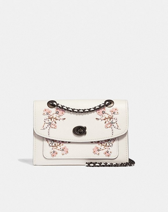Coach PARKER WITH FLORAL EMBROIDERY
