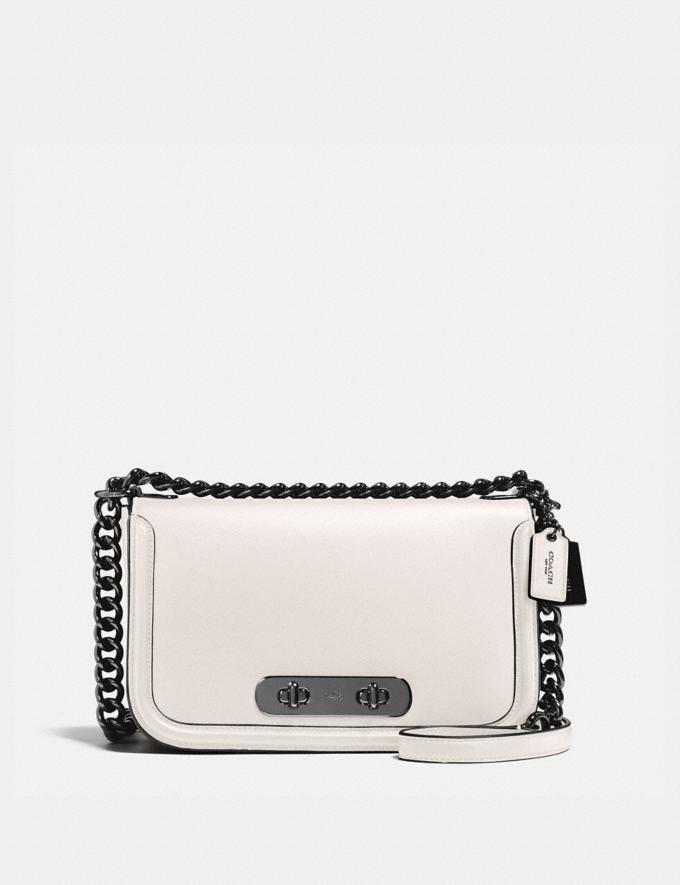Coach Coach Swagger Shoulder Bag Dk/Chalk Back In Stock Back In Stock Bags