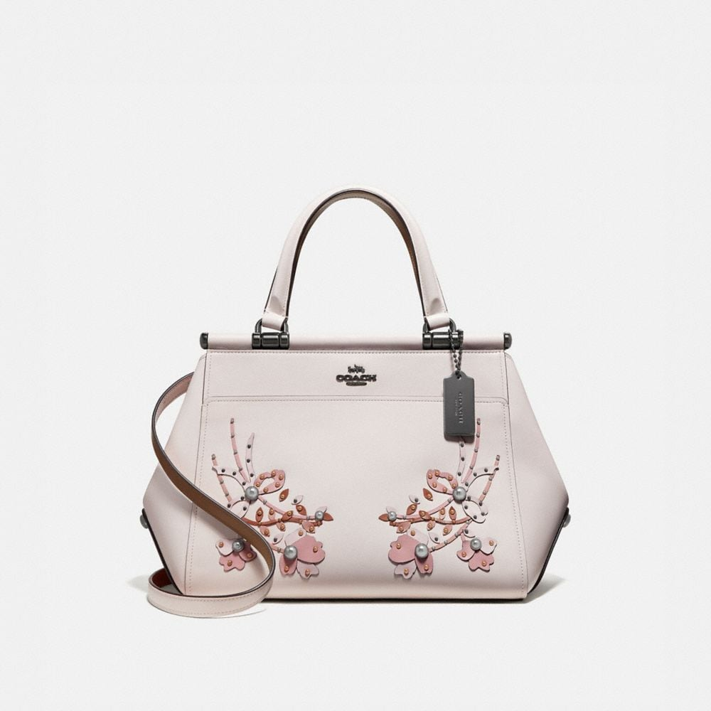 GRACE BAG WITH FLORAL EMBROIDERY