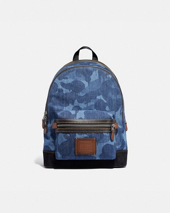 Coach ACADEMY BACKPACK WITH WILD BEAST PRINT