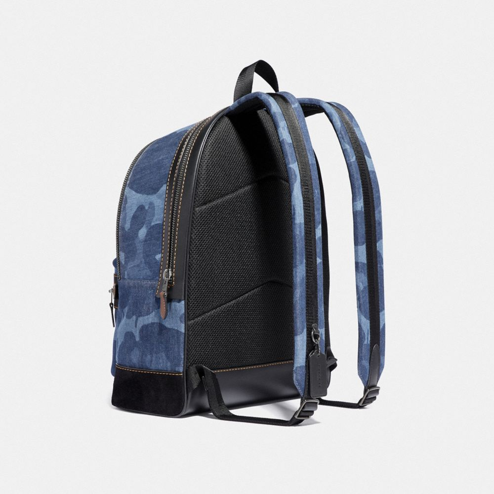 Coach Academy Backpack With Wild Beast Print Alternate View 1