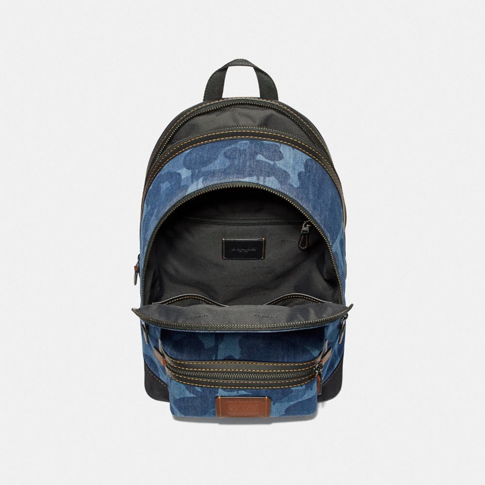 Coach Academy Backpack With Wild Beast Print Alternate View 2