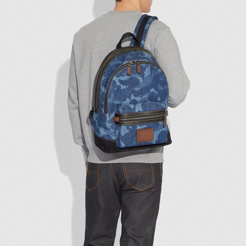 Coach Academy Backpack With Wild Beast Print Alternate View 3