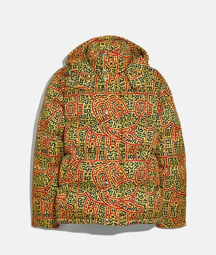 DISNEY MICKEY MOUSE X KEITH HARING PUFFER