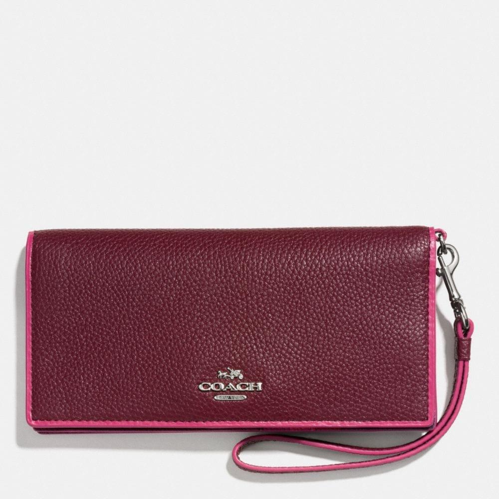 Slim Wallet in Edgestain Leather