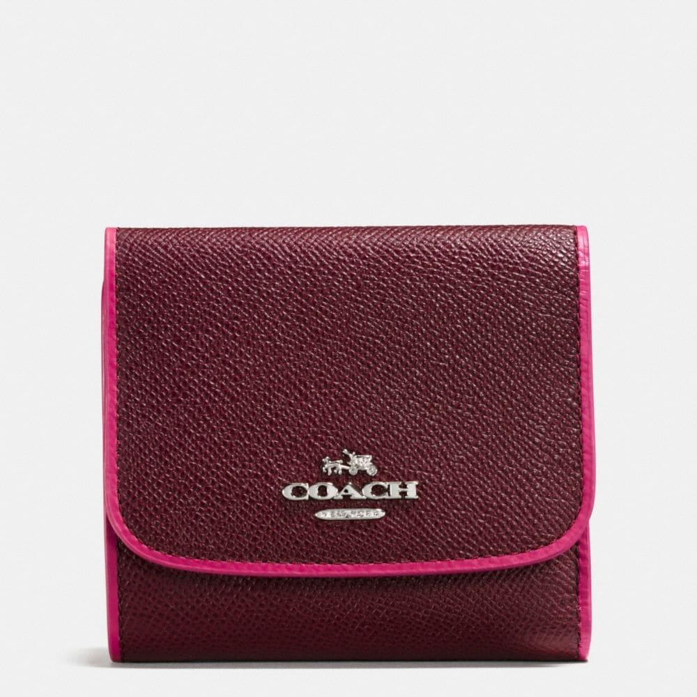 SMALL WALLET IN EDGESTAIN LEATHER