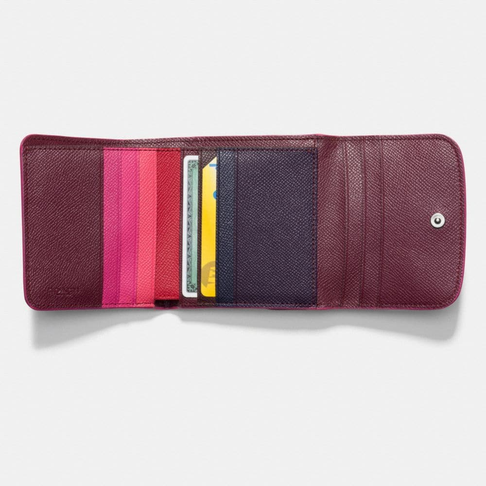 Coach Small Wallet in Edgestain Leather Alternate View 1