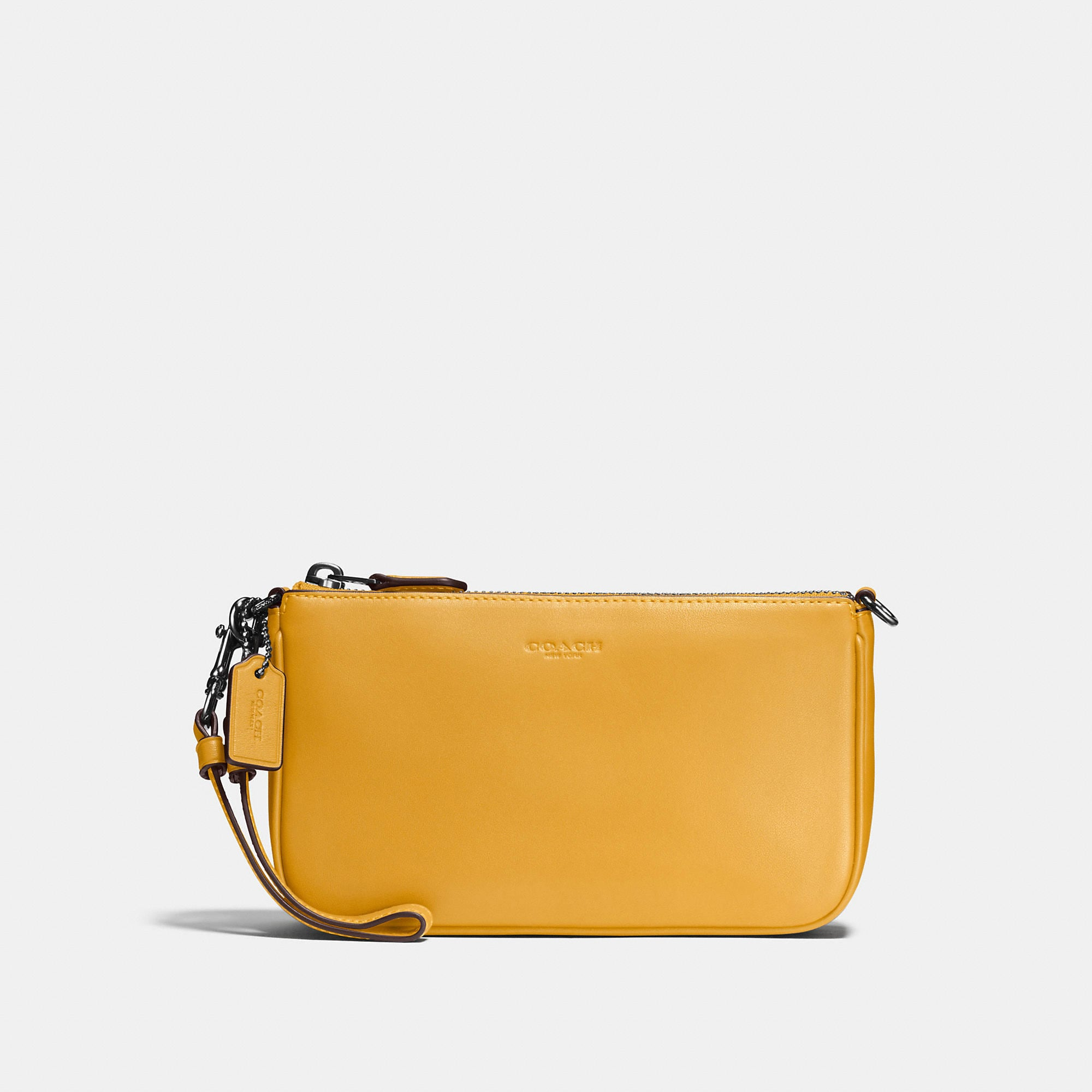 Coach Nolita Wristlet 19 In Glovetanned Leather