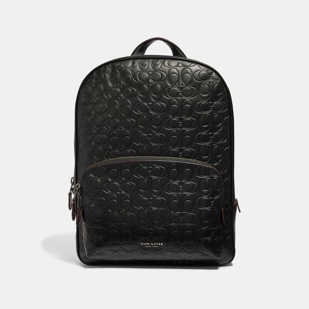 kennedy backpack in signature leather