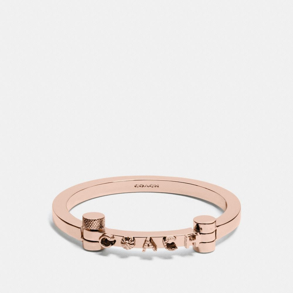 Coach Coach Metal Hinged Bangle