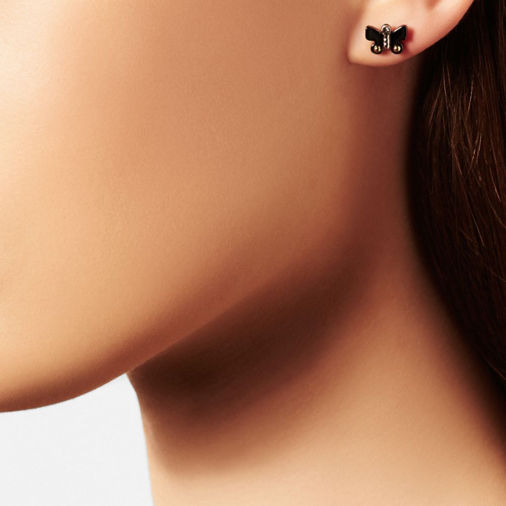 Butterfly Stud Earring Set - Autres affichages A1