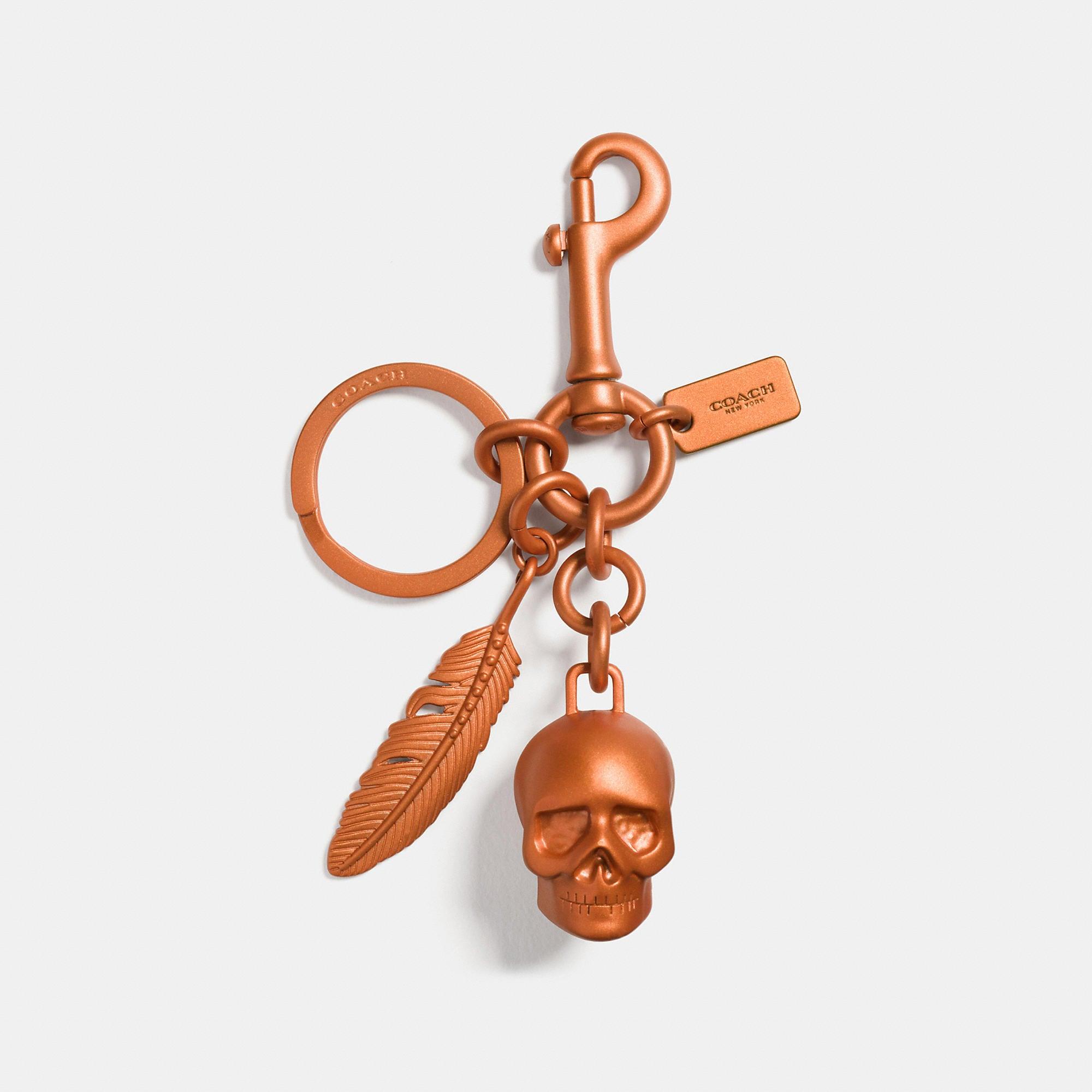Coach Anodized Skull Mix Bag Charm