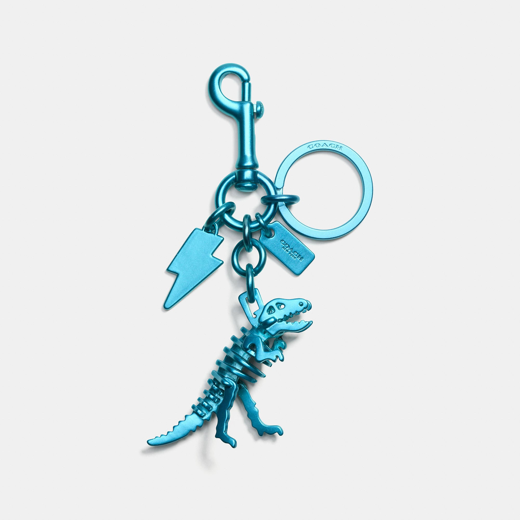 Coach Anodized Rexy Bag Charm