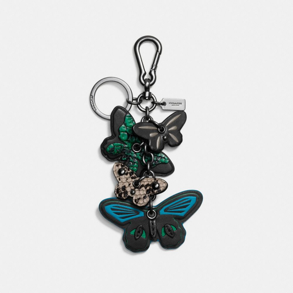 CLUSTERED BUTTERFLY BAG CHARM
