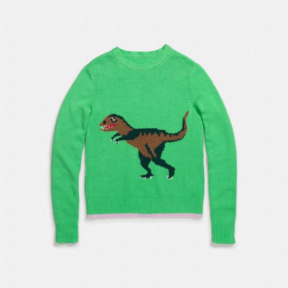 Coach Rexy Intarsia Sweater
