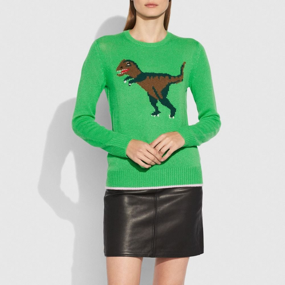 Rexy Intarsia Sweater - Alternate View A1