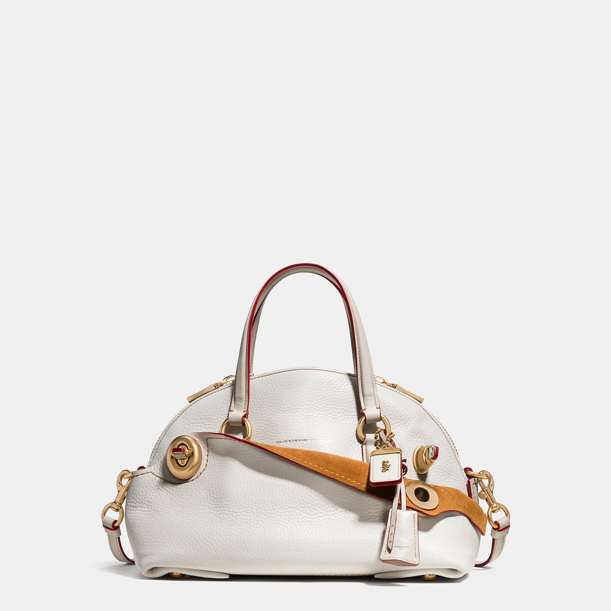 Coach Outlaw Satchel 36 In Glovetanned Pebble Leather