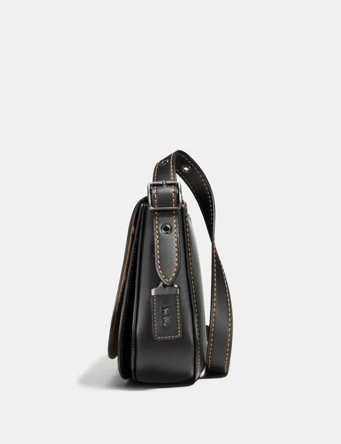 Coach Saddle 23 Bordeaux/Black Copper Personalise Personalise It Monogram For Her Alternate View 1