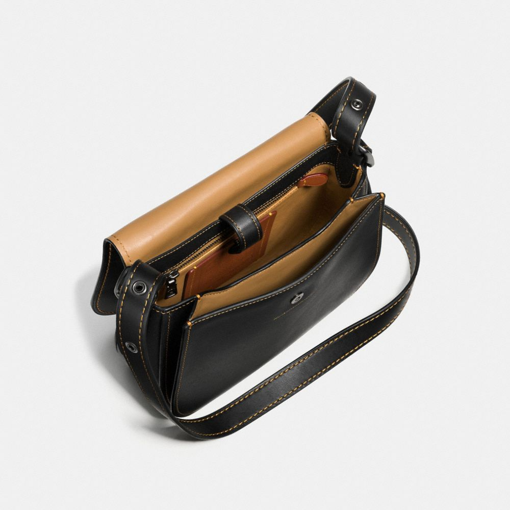 Saddle Bag 23 in Burnished Glovetanned Leather - Alternate View A2
