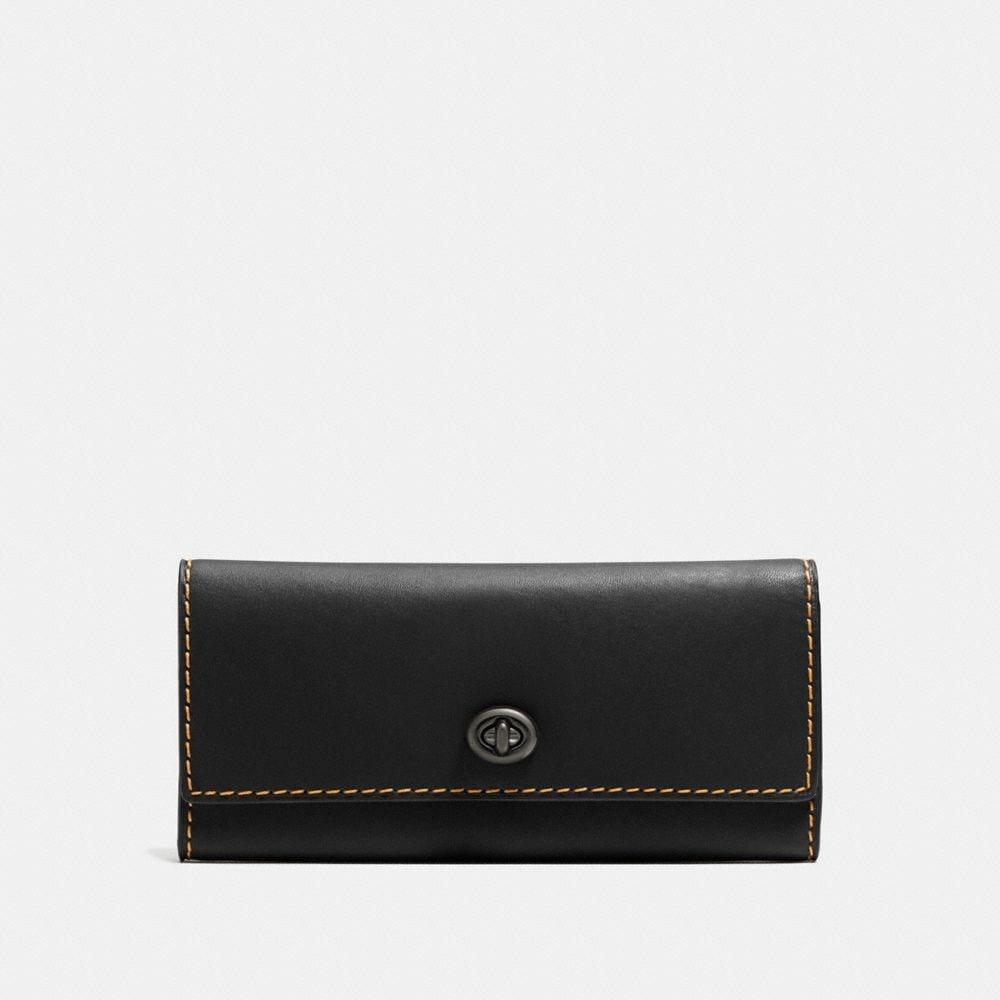 Turnlock Wallet in Glovetanned Leather