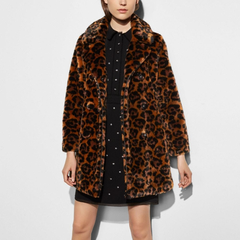 Wild Beast Faux Fur Coat