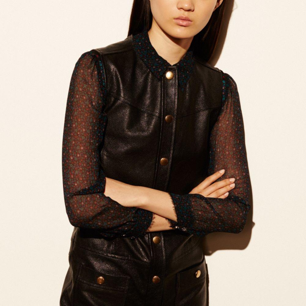 Leather Dress - Alternate View M2