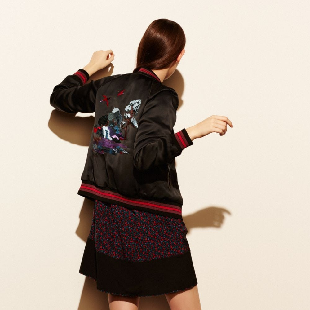 SOUVENIR SKY VARSITY JACKET - Alternate View M1